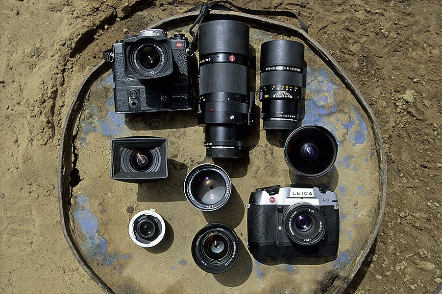 Michael Martin, Fotoausrüstung